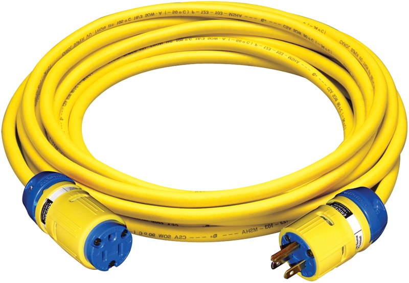 TPE cord set with smart monitor technology