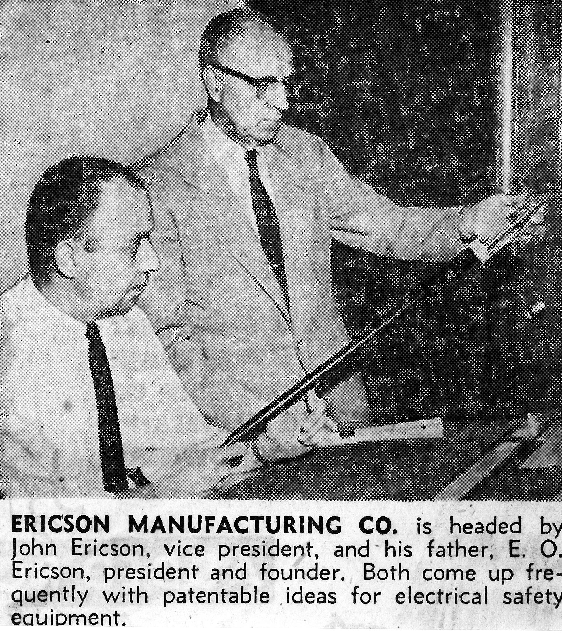 E. O. Ericson & John Ericson Sr
