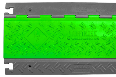 TuffTraxx Cable Protector Custom Green Color